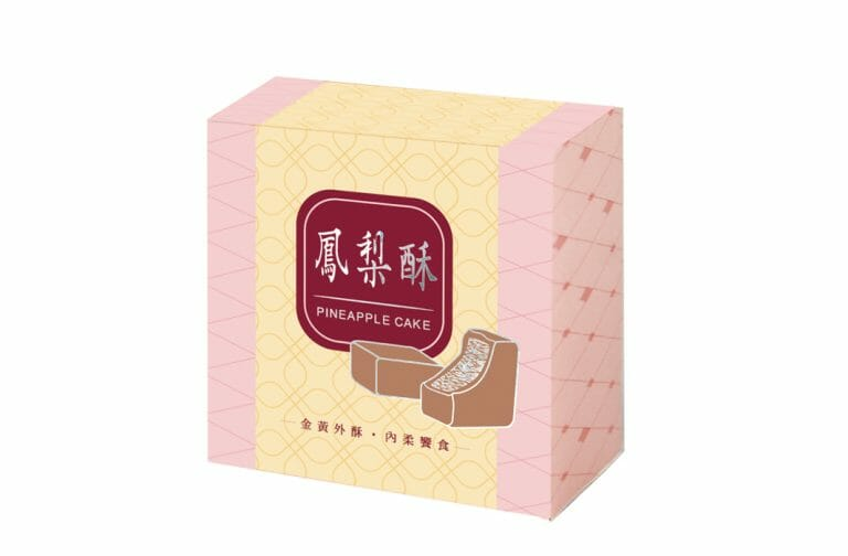 Read more about the article 鳳梨酥盒型-粉鑽